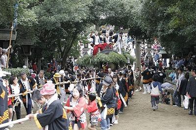 鴻八幡宮例大祭