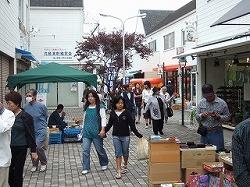 児島駅前「三白市(さんぱくいち)」